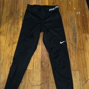 Nike-Pro Black Leggings